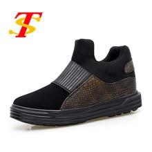 New Fashion Shoes Men Ankle Boots Unisex Breathable Casual Shoes Platform Slip-on Footwear Couple Shoes Zapatillas Hombre