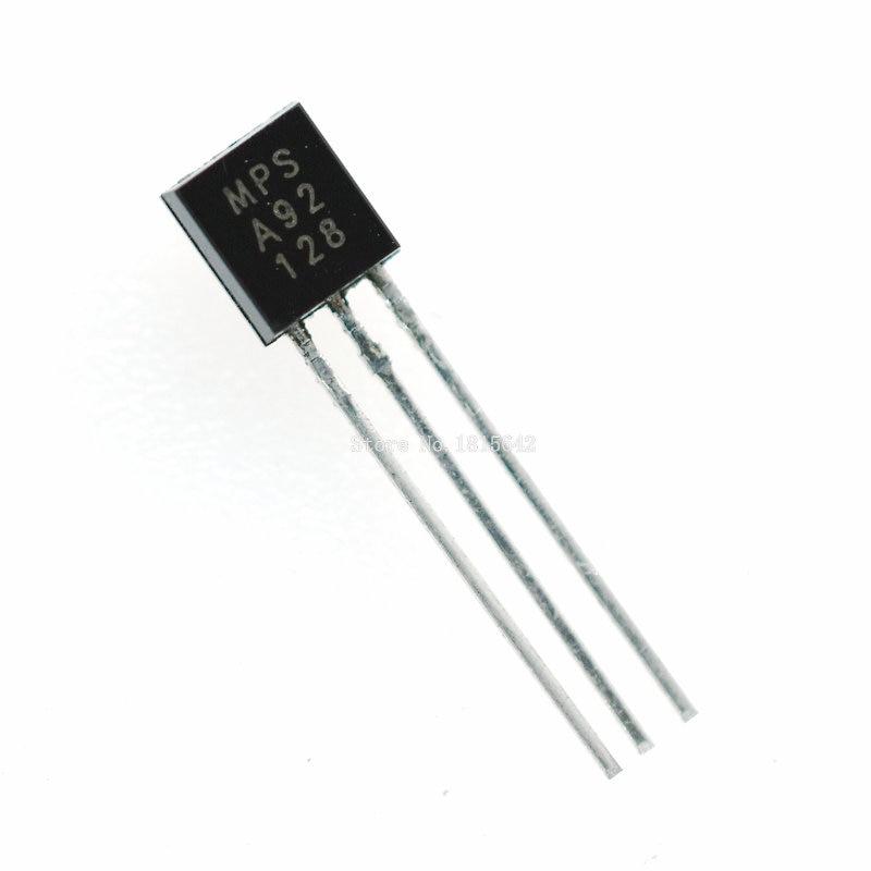 100PCS/Lot MPSA92 A92 Triode TO-92 Original New