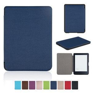 "ZGPAX Tablets e-books Case Folding Folio Case For 2018 KOBO CLARA HD 6inch Ebook Corner Protection Smart Tablet Case 6"" A40(China)"