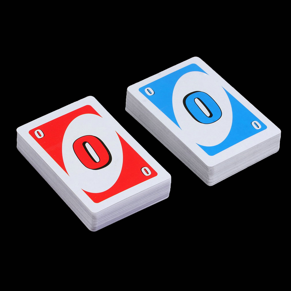 2017 World Player popular hot New UNO Card Game Playing Card Family Fun Updated Version