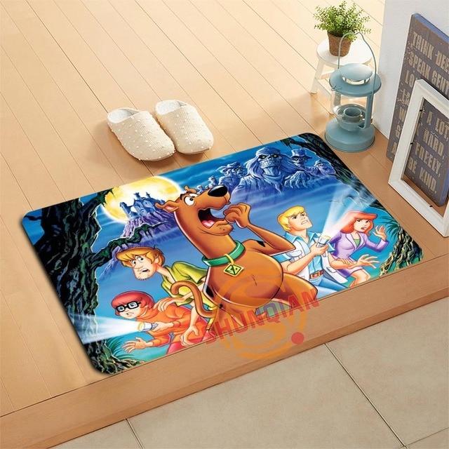 Custom Scooby Doo Doormat Bath Mats Foot Pad Home Decor Bathroom Mats Door  Mat Floor Mat