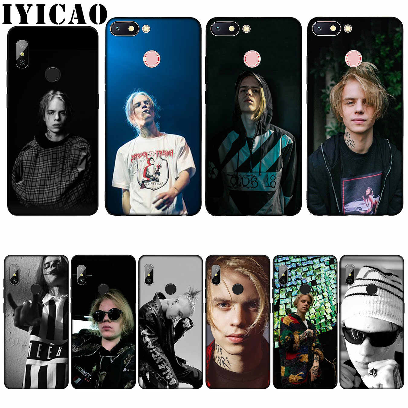 IYICAO Russia rapper Pharaoh Customer High Quality Silicone Soft Case for Xiaomi Redmi 6A 5A Note 7 4 4X 5 Plus 6 Pro Cover