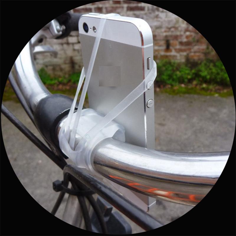 Bike Mount Silicone Band Cell Phone Holder Smartphone bicycle Holders for iPhone X 10 8 7 6 XS 6S Plus 5 5S SE for Iphone 6 plus