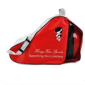 Image 2 - Slalom حقيبة أحذية التزلج الأسطوانة على ظهره واحد الكتف مضمنة سكيت على ظهره سعة كبيرة تحمل أكياس 3 أنواع avaiable