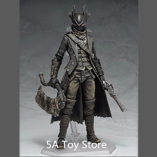 PS4 Bloodborne Games Figure Hunter Figma 367 PVC Action Figure Model Collection Toy Doll Gifts 15CM 3