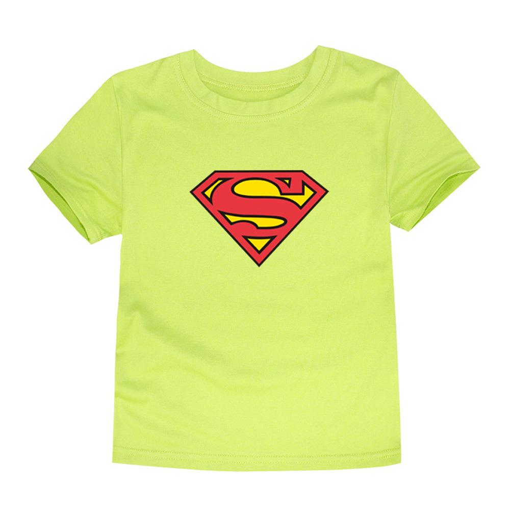 HTB1T1B3QVXXXXX3apXXq6xXFXXXX - TINOLULING 2018 Kids Superman T-Shirt Boys Girls Batman T Shirt Children Tops Baby Tees For 2-14 Years