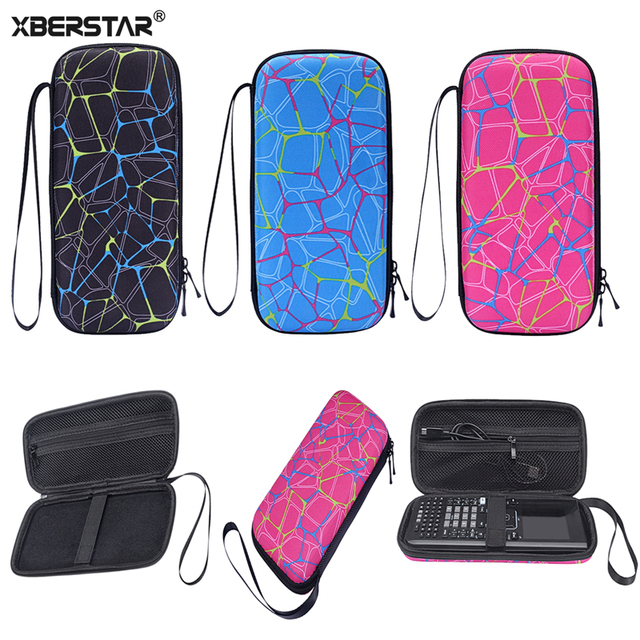 Storage Carry Case For Texas Instruments Nspire CX CAS Graphing Calculators Protective Pouch Sleeve HandBag Travel Zipper Bag