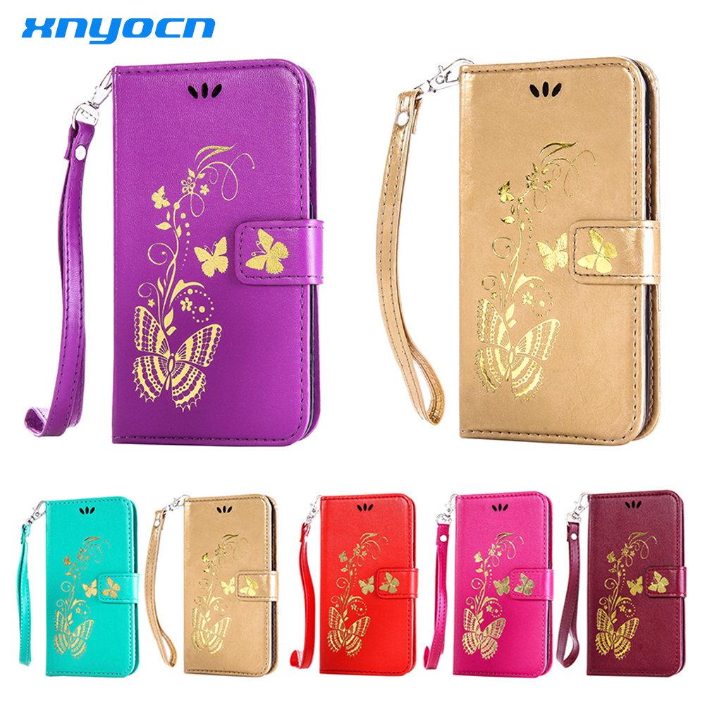 Xnyocn <font><b>Phone</b></font> <font><b>Case</b></font> For <font><b>Samsung</b></font> Galaxy S3 S4 S5 S6 S7 Edge Plus Mini J1 J3 J5 J7 A3 <font><b>A5</b></font> A7 2015 <font><b>2016</b></font> Leather Capa Coque image