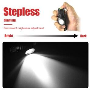 Image 4 - BORUiT D10 XM L2 LED Mạnh 3000LM Chống Nước Đèn Pha Sạc USB 18650 Đầu Đèn Pin Dùng Cho Cắm Trại, Đi Xe Đạp