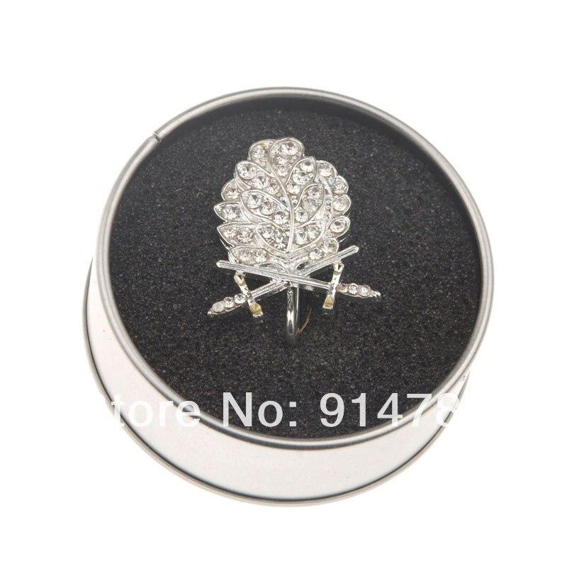 WWII allemand WH feuille de chêne épées diamants chevaliers fer croix argent-33913 - 4