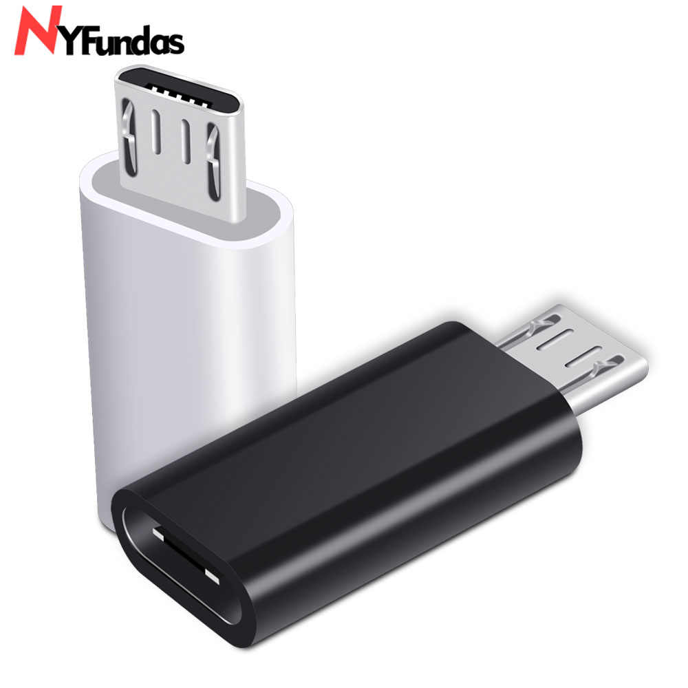 NYFundas usb c к micro usb адаптер для samsung Galaxy S7 S6 edge huawei honor 8x Xiaomi Redmi Note 5 6 Pro 4 3 LG type-C кабель