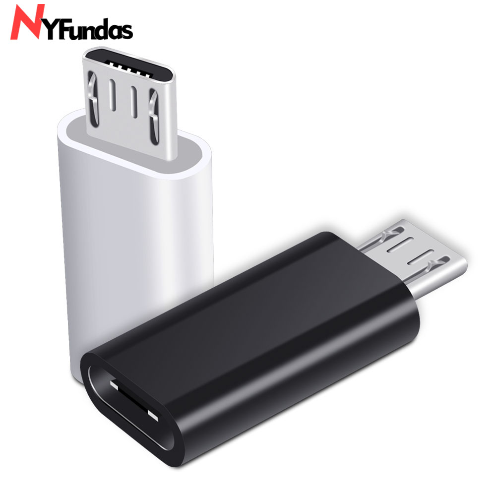 Type-c Adapter Micro Usb To Typec Adapter Alloy Case Android Micro Usb Connector To Type C For Huawei For Xiaomi With Keychain Adaptors #1016 Accessories & Parts