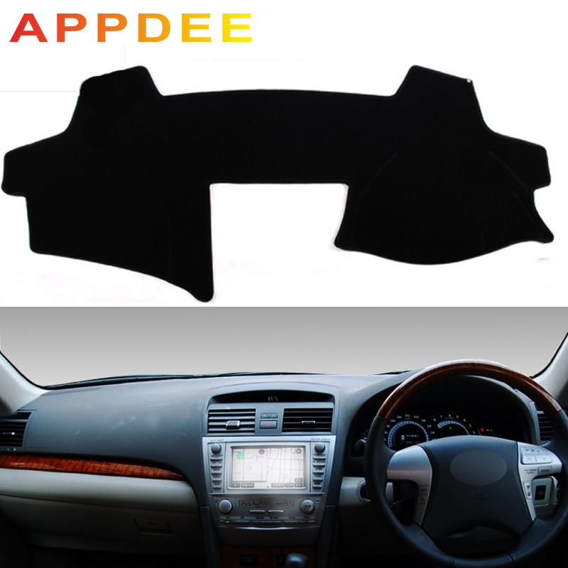 APPDEE For Toyota Camry XV40 2006-2011 Car Styling Covers Dashmat Dash Mat Sun Shade Dashboard Cover Capter 2007 2008 2009 2010
