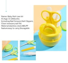 4pcs Baby Healthcare Baby Nail Care Set