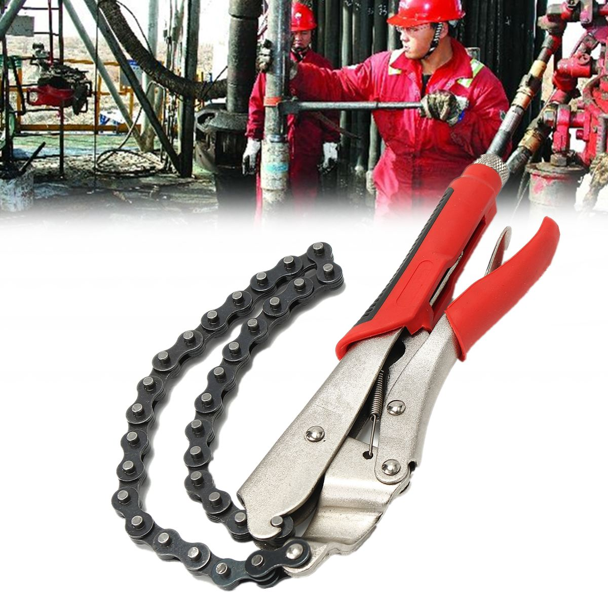 Top Quality 9 Inch Adjustable Locking Chain Clamp Plier Vise Wrench Tool For Oil <font><b>Filter</b></font> Removal Tool Remover