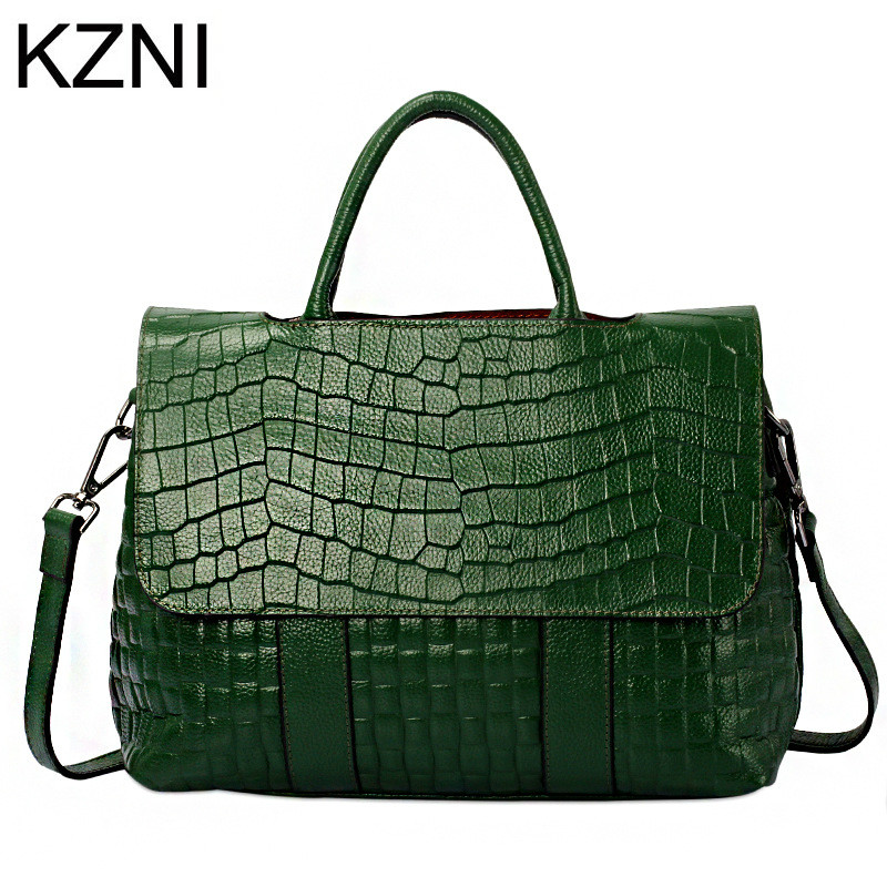 KZNI Genuine Leather Purse Crossbody Shoulder Women Bag Clutch Female Handbags Sac a Main Femme De Marque  L122537KZNI Genuine Leather Purse Crossbody Shoulder Women Bag Clutch Female Handbags Sac a Main Femme De Marque  L122537
