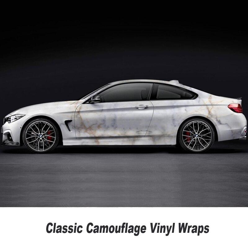 Camouflage Vinyle Wrap Film Auto Autocollant Vinyles Film Camouflage Enveloppe De Voiture pour Voiture Emballage mat brillant Différents types toute taille - 4