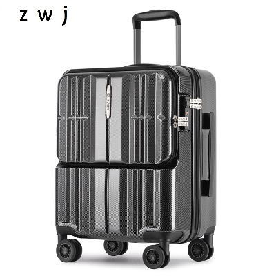 20 inch PC Computer Loptopr suitcase cabin travel box TAS LOCK carry on hand luggage on