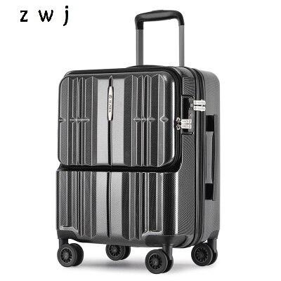20 cal komputer stancjonarny Loptopr walizka kabiny pudełko na podróż TAS LOCK przenoszenia na bagaż na kółkach w Walizka na kółkach od Bagaże i torby na  Grupa 1