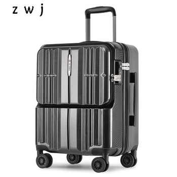 20 inch PC Computer Loptopr suitcase cabin travel box TAS LOCK carry on hand luggage on wheel - DISCOUNT ITEM  15 OFF Luggage & Bags