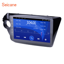 Seicane 9″ Touchscreen Radio GPS Navigation Android 6.0 2din Mirror Link Stereo for 2011 2012-2015 KIA K2 with Bluetooth WIFI