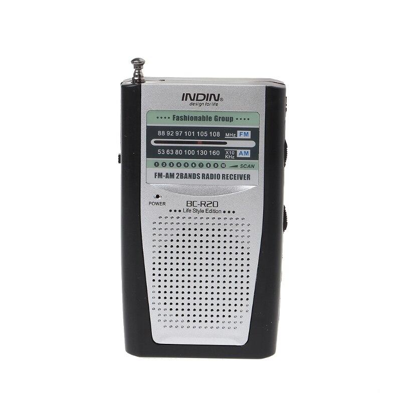 Gastfreundlich Neue Tragbare Mini Radio Schlanke 2-band Am Fm Welt Receiver Dc 3 V Teleskop Antenne Bc-r20 Radio