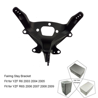 For Yamaha YZF R6 2003 2004 2005 and R6S 2006 2007 2008 2009 Motorcycle Upper Front Headlight Fairing Stay Bracket Holder New