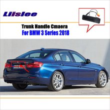 Liislee For BMW 3 2018 Trunk Handle / Car Rear Back Camera View Reverse Parking Night Vision