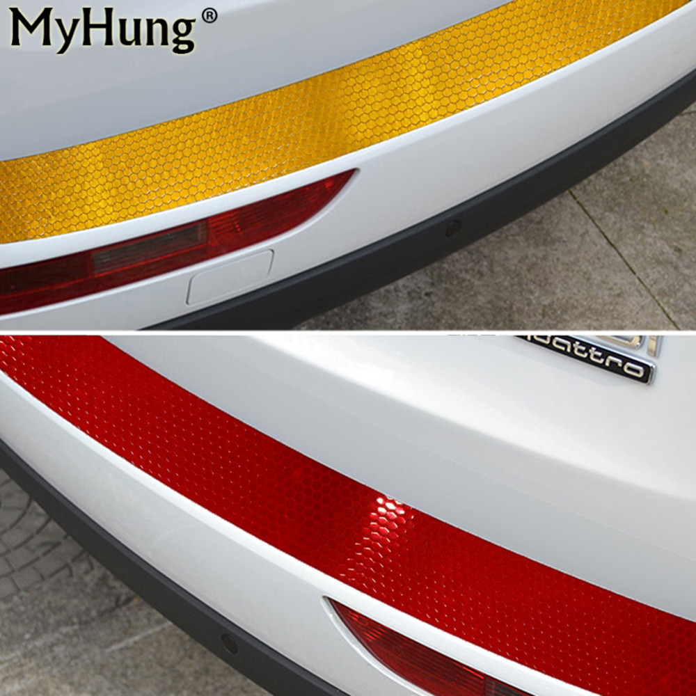 Car Styling Rear Guard Bumper reflector Protect Cover For Suzuki X5 Liana Alto Swift Antelope SX4 S-Cross Jimny Vitara Reclector