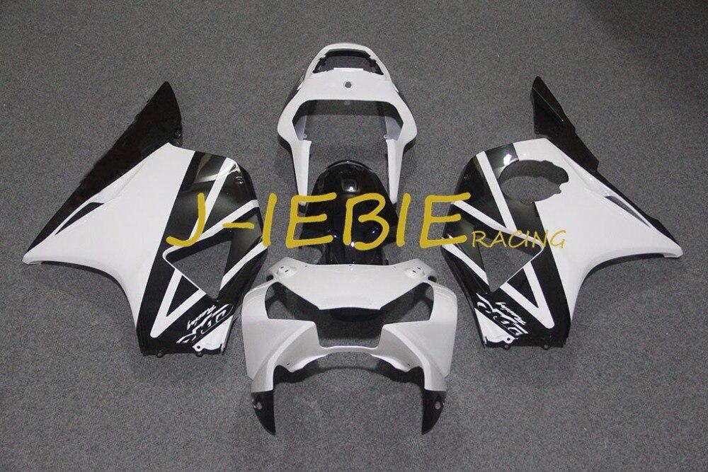 Black White Injection Fairing Body Work Frame Kit for Honda CBR954RR CBR 954 CBR954 RR 2002 2003