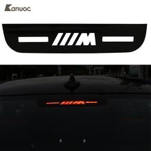 Для автомобиля BMW/M стоп-сигналы декоративное покрытие высокой горе стоп наклейки 3 7 5 серии E46 E90 e92 E93 F30 F35 F80 F31 F10