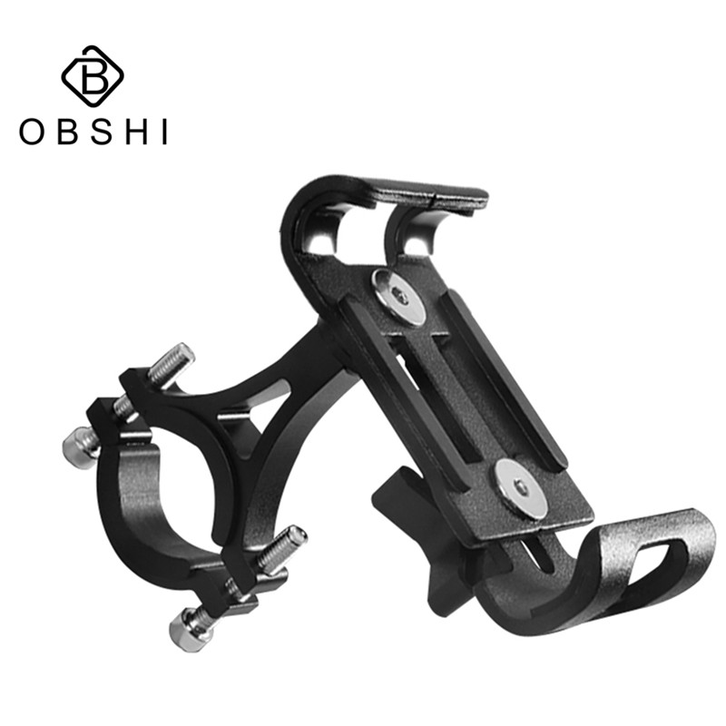 2019 New Aluminium Alloy Bike Phone Holder 3.5-6.5