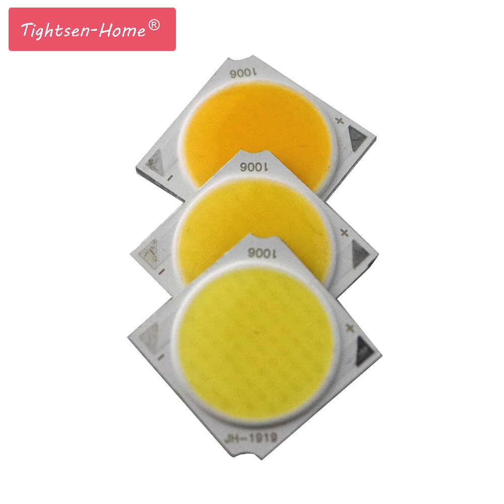 5PCS 19MM COB 10W 18W 30W led cob Light Source chip 300mA Side Spot Lights Chip On Board bulb Ceiling spotlight Lamp LIGHTING