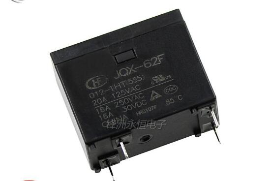 6pcs Relay JQX 62F 012 1HT 250V 16A Relay 4 Pin Relay