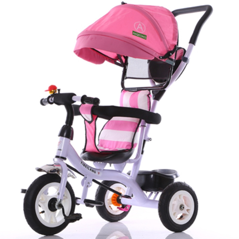 Hot Selling 3 Wheel Baby Stroller Tricycles for Children Pram Umbrella Luxury Strollers Tricycle Bicycle Baby Carriage