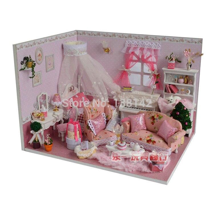 Casa de muñecas en miniatura de iluminación Living Dormitorio Accesorio Lámpara de aceite