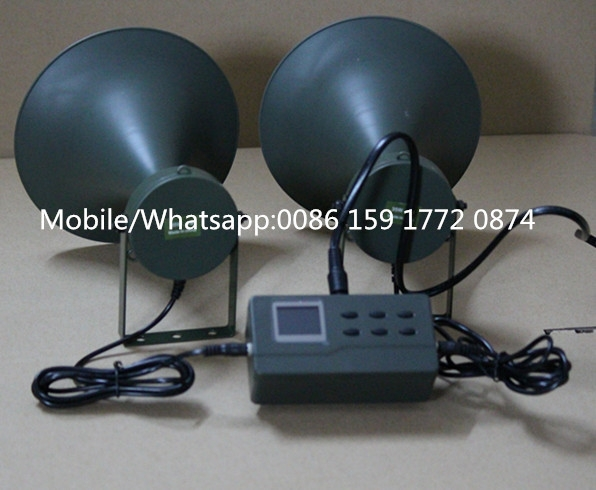 high quality waterproof hunting call hunting device bird caller 390 with small round speaker 2 receivers 60 buzzers wireless restaurant buzzer caller table call calling button waiter pager system