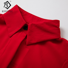 Autumn Spring New Fashion Women's Kimono Blouses Solid Capes Chiffon Blouses Shirt Tops Womens Clothing Red Blue T77715A