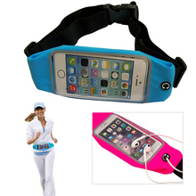 Sport GYM Waist Pack Pouch Waterproof Running Bags Wallet phone Case for Nokia 625 635 636