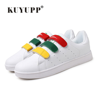 3 Colors Hook Loop Valentine Casual Skate Shoes Woman And Men White Superstar Shoes Plus Size