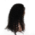 7A Brasileño Loose Rizado 250% Densidad Del Frente Del Cordón Del Pelo Humano pelucas Negro Mujeres Brasileño de la Virgen Rizada Llena Del Cordón Del Pelo Humano pelucas