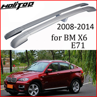 roof rail roof bar for BM X6 E71 2009 2014,thick aluminium alloy,by ISO9001 factory,promotion price 5days, free shipping to Asia