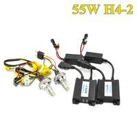55 W H4-2 hid xenon balast car far dijital hid xenon kiti h1 h3 h4 h7 xenon için otomatik lamba ampul