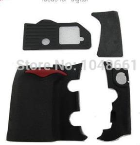 Image 2 - 4 pieces For Nikon D300 Rubber Cover Units Complete Grip Rubber Replacement dslr camera Free Shipping !