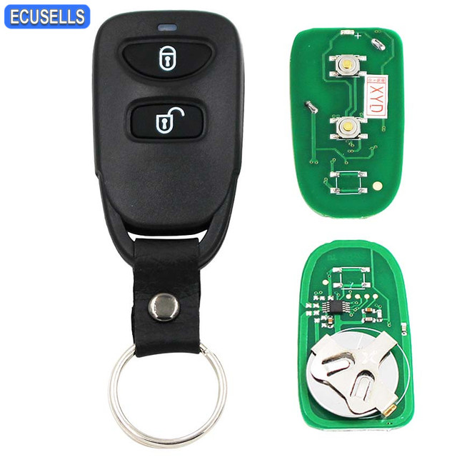 2 Ons Remote Key 433mhz Smart Car Fob For Hyundai Tucson