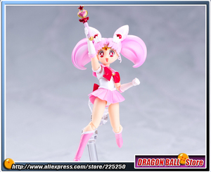 Image 5 - Оригинальная фигурка «Pretty Guardian Sailor Moon», бандаи тамаши нациями, SHF/ S.H.Figuarts Sailor Chibi Moon