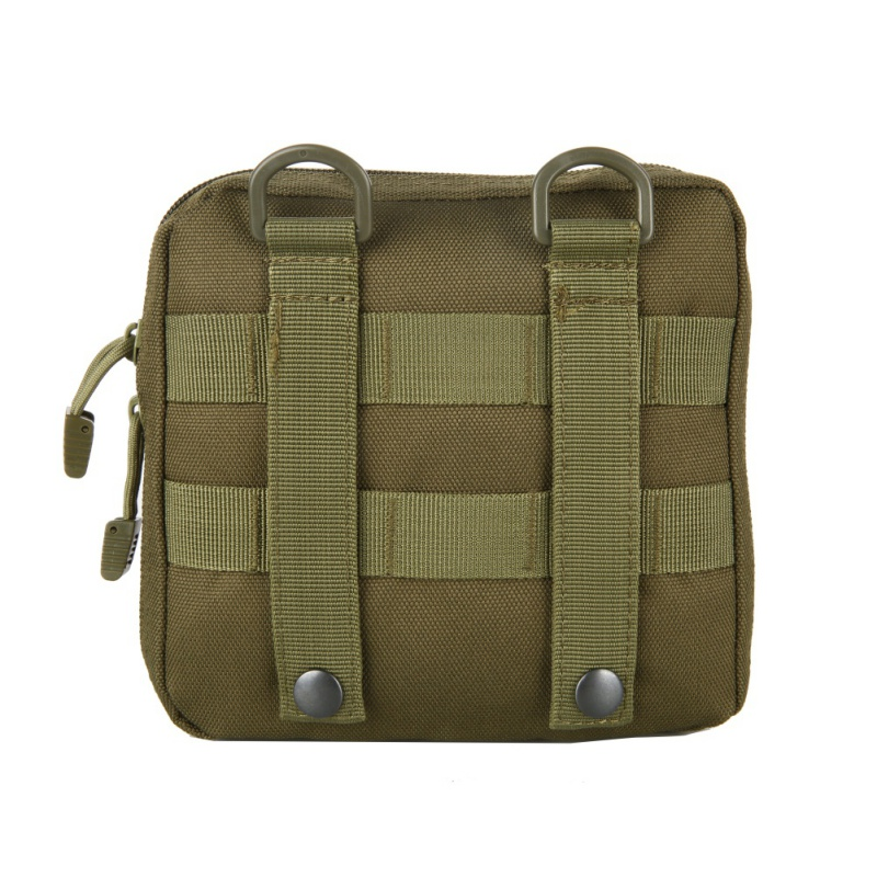 1000D Nylon Multifunctional Outdoor Military Tactical Waist Bag Camping EDC Molle Tool Zipper Waist Durable Belt Pouch Hy