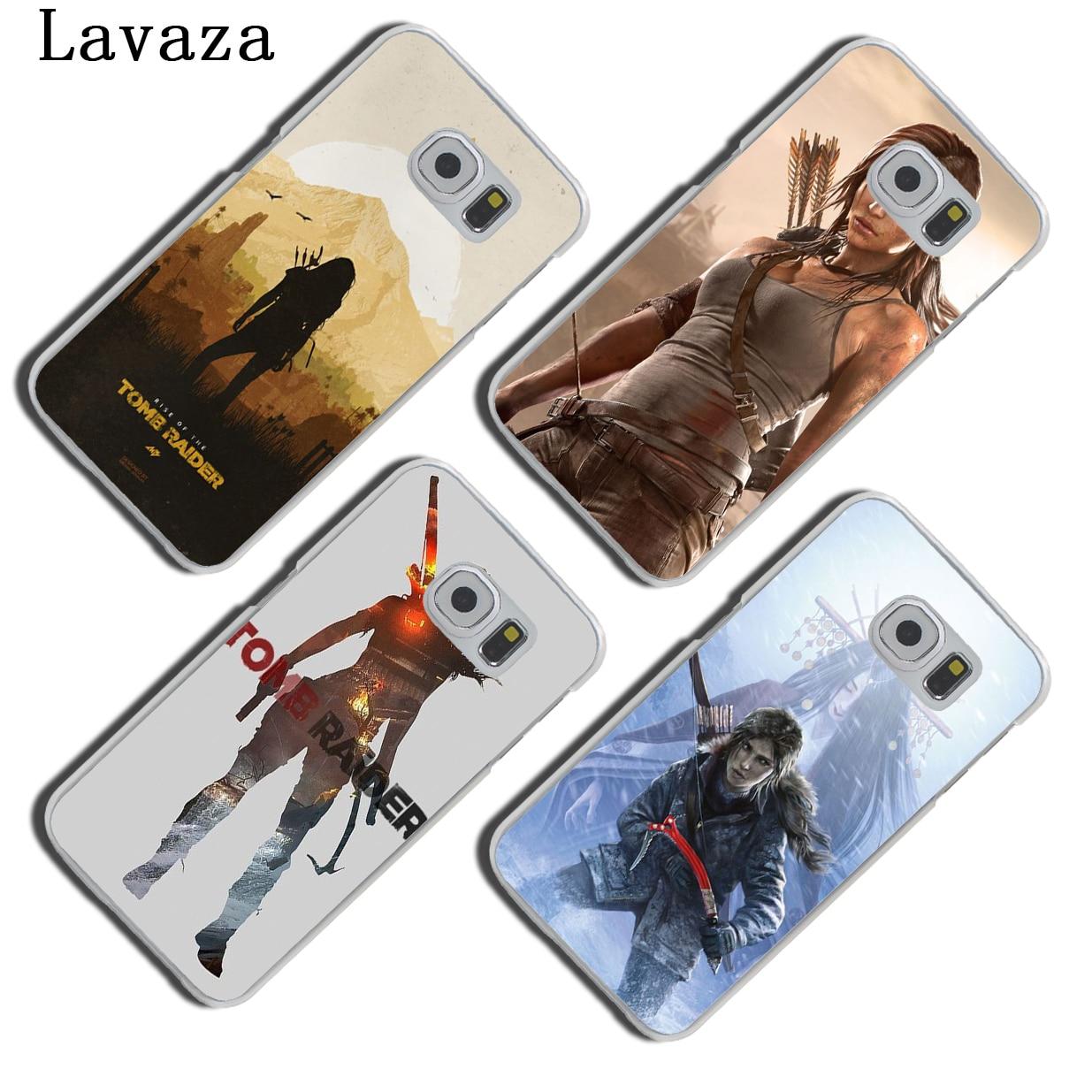 Lavaza Tomb Raider Hard Phone Cover Case for Samsung Galaxy S7 S6 Edge S3 S4 S5 Mini S8 S9 Plus Cases