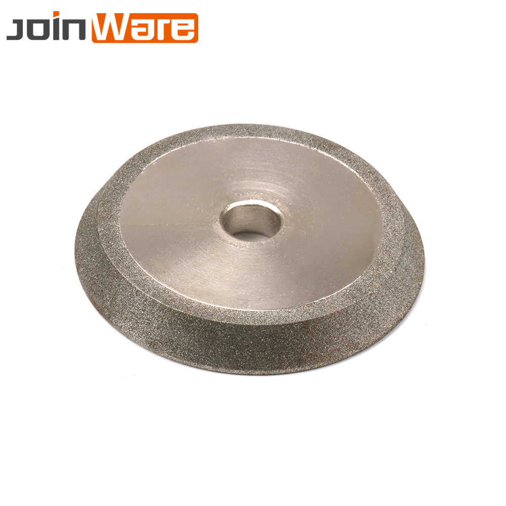 78x12.7x10mm Diamond Grinding Wheel Cutter Grinder 60 Degree Abrasive Disc For Carbide Tungsten Steel Milling Cutter 150 Grit