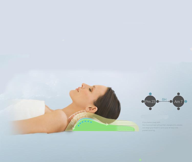 Orthopedic Latex Magnetic Neck Pillow 11